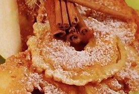 Pennsylvania Dutch Deep Fried Apple Fritters