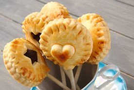 Homemade Pie Pops on Sticks