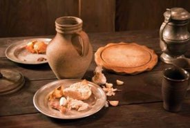 Renaissance Era Tableware Setting