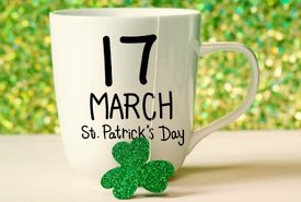 17 March St Patrick's Day Mug