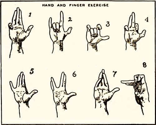 Trewey Hand and Finger Exercise