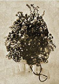 Handmade Victorian Hair Flower Bouquet